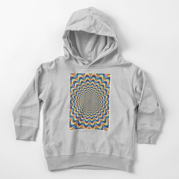 Optical illusion Trip Toddler Pullover Hoodie