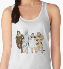 Why does the scarecrow keep saying 'brains'?! BLUE! Women's Tank Top