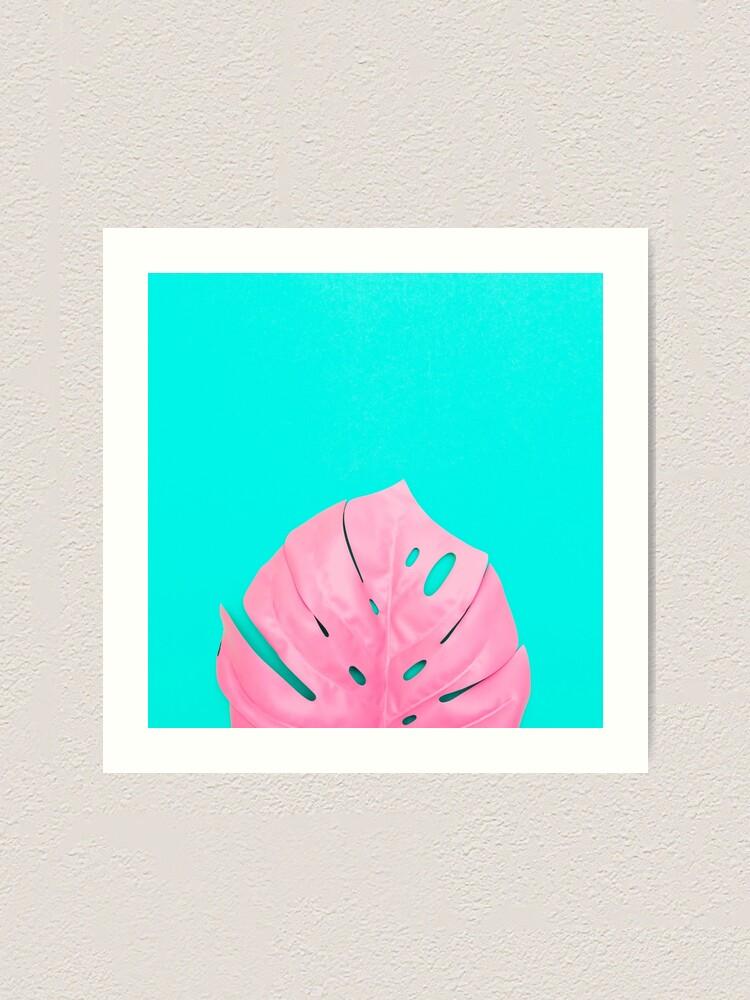 Alternate view of Leaf of Monstera Art Print