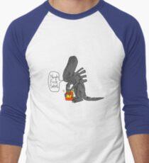 Alien Vs Jam jar Men's Baseball ¾ T-Shirt