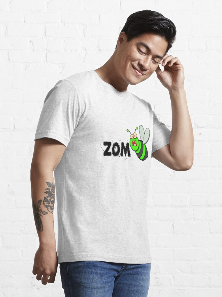 Alternate view of ZomBee Essential T-Shirt