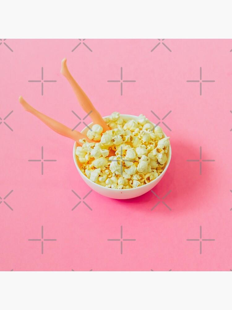 Popcorn and Legs by KatyaHavok