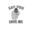Say You Love Me by Lisa Defazio