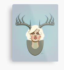 Dear Marilyn Metal Print