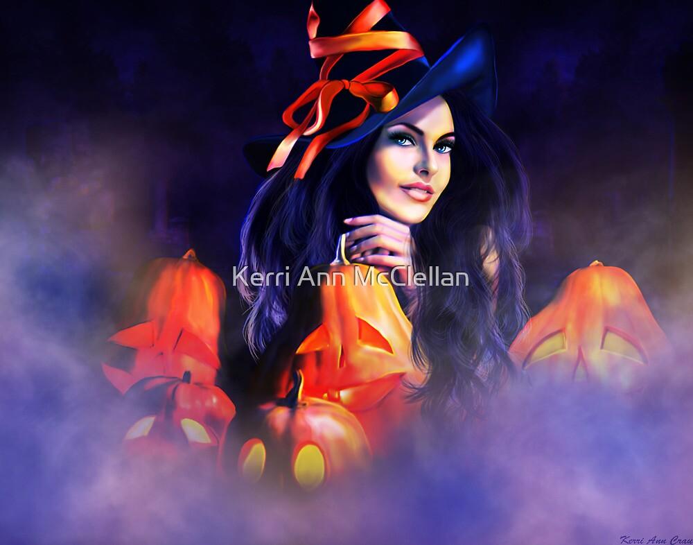 Jack-O-Lantern Witch by Kerri Ann Crau
