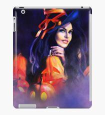 Jack-O-Lantern Witch iPad Case/Skin