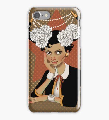Chanel: the Little Black Bull iPhone Case/Skin