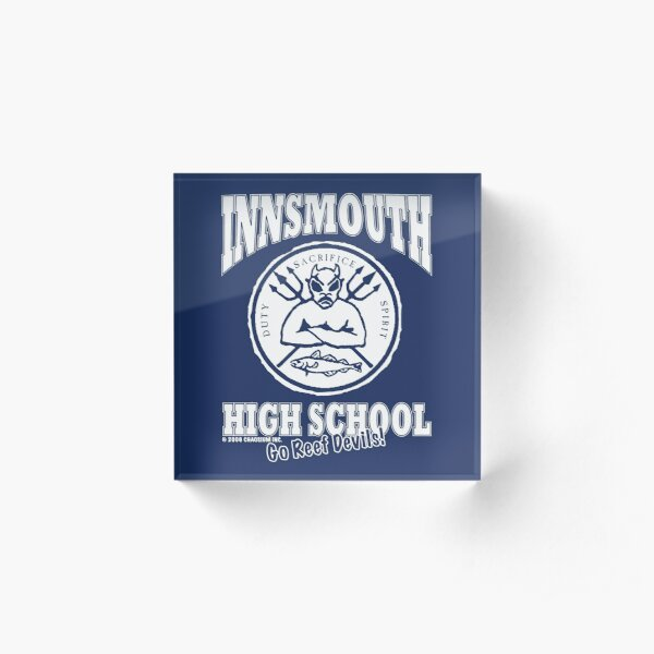 Innsmouth High School Acrylic Block
