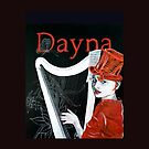 Dayna  (Tote Bag) by scallyart