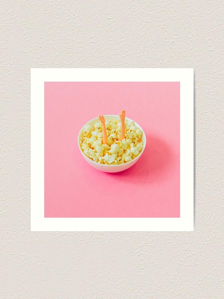 Alternate view of Popcorn Art Art Print