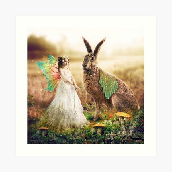 Waiting for the Bridegroom Art Print