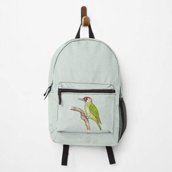 European green woodpecker Backpack