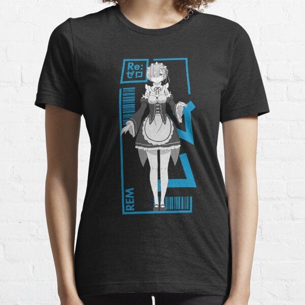 Rem - Re:Zero - Typography 1 Essential T-Shirt
