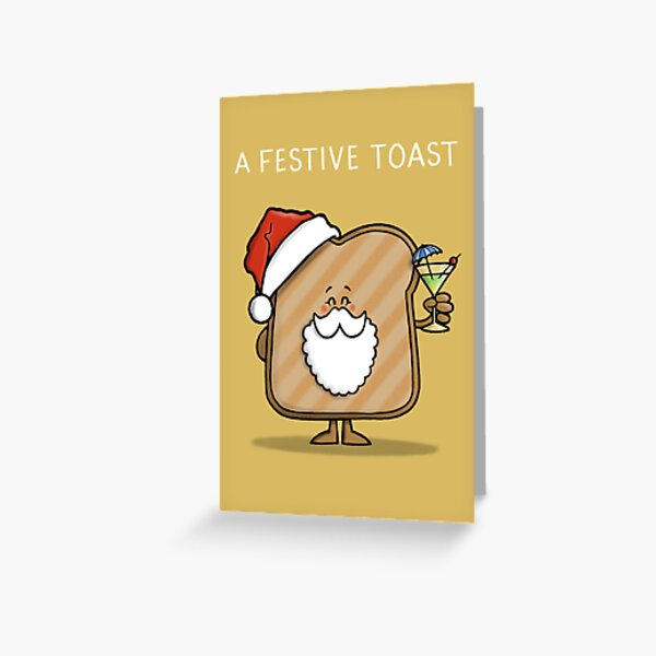 Festive Toast Greeting Card