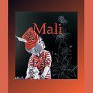 Mali (Spiral Notebook) by scallyart