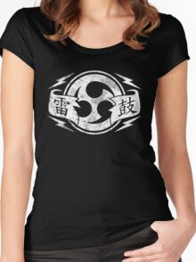 Thunder Drum Women's Fitted Scoop T-Shirt