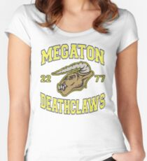 Megaton Deathclaws Women's Fitted Scoop T-Shirt