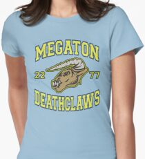 Megaton Deathclaws Womens Fitted T-Shirt