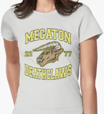 Megaton Deathclaws Women's Fitted T-Shirt