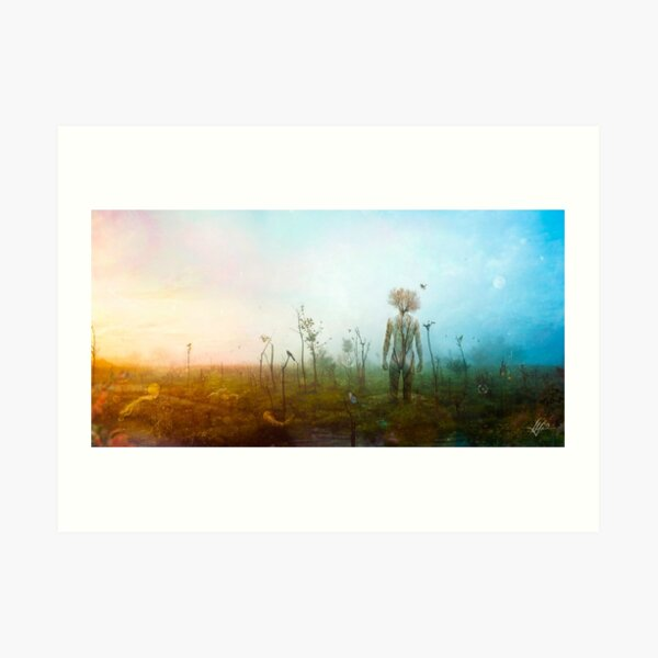 Internal Landscapes Art Print