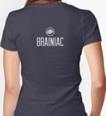 Brainiac Women's Fitted V-Neck T-Shirt