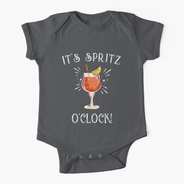 "Amalfi Coast Italy ""It's Spritz O'clock Limited Edition T-shirt Short Sleeve Baby One-Piece"