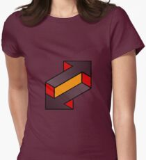 upload - download Womens Fitted T-Shirt