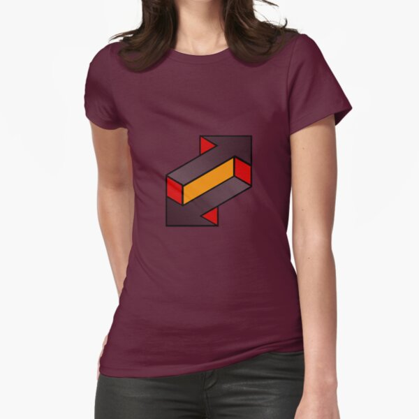 upload - download Fitted T-Shirt