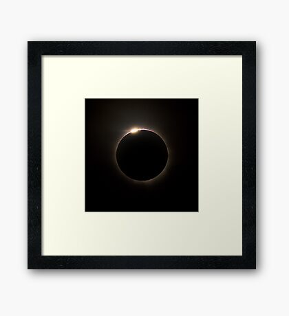 Solar Eclipse 2012 Framed Print