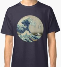 Große Welle vor Kanagawa-Kreis Classic T-Shirt