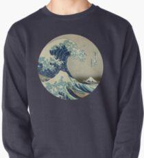 Große Welle vor Kanagawa-Kreis Pullover
