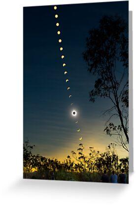Solar Eclipse Composite 2012 by Phil Hart