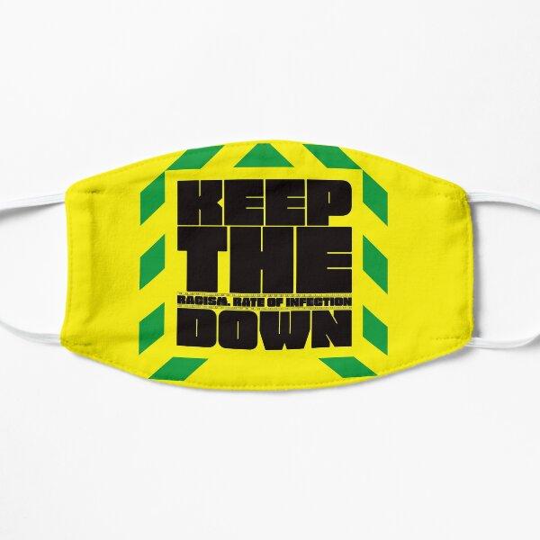 Keep The R Down Mask (Black Lives Matter) (BLM) Mask