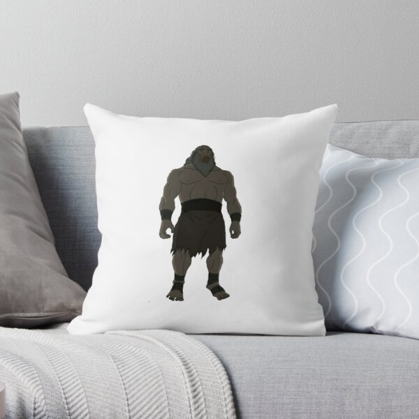 buff uncle iroh Throw Pillow