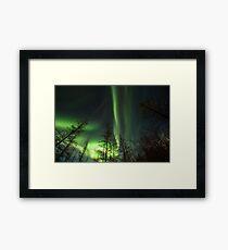 Yukon Northern Lights 1 Framed Print