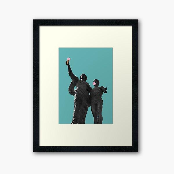Martyrs of Beirut Framed Art Print