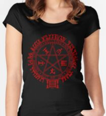 Hellsing Seal Women's Fitted Scoop T-Shirt