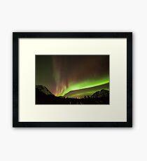 Yukon Northern Lights 4 Framed Print