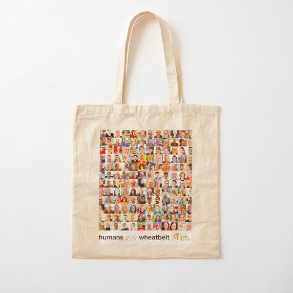 Humans of the Wheatbelt v7 Cotton Tote Bag