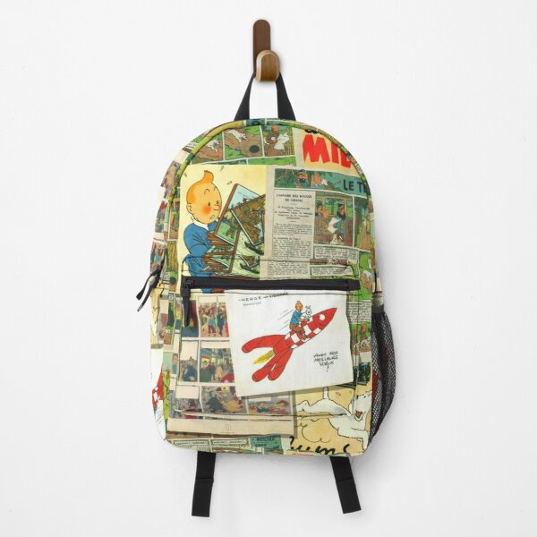 Tintin collage 2 Backpack
