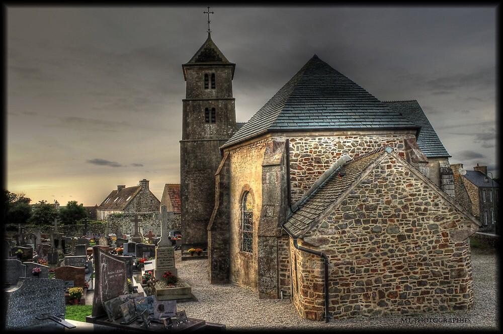Vauville's church by Michaël Tardif