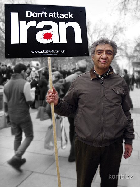 Don't Attack Iran by kombizz