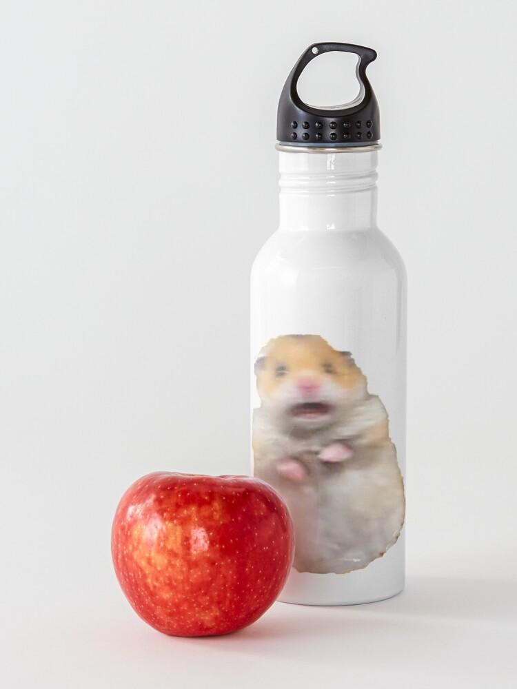 Alternate view of Screaming Hamster Meme Water Bottle