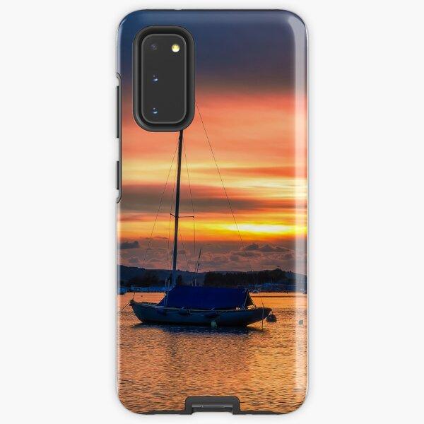 Bembridge Harbour Sunset Samsung Galaxy Tough Case