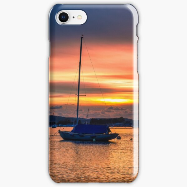 Bembridge Harbour Sunset iPhone Snap Case