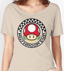 Mushroom Cup Women's Relaxed Fit T-Shirt