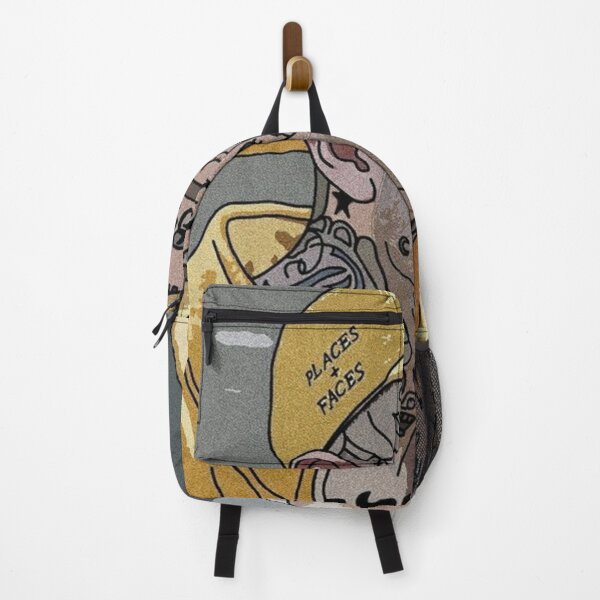 Lil Peep Places+Faces Picture Poster Backpack