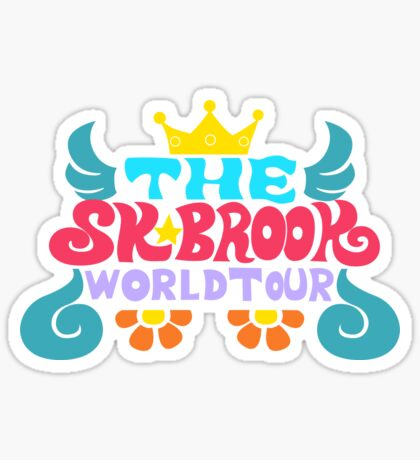 Soulking Tour Shirt Sticker