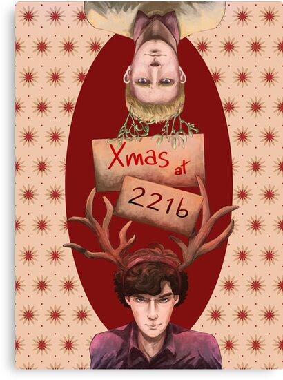 Merry Xmas from 221b by YuriOokino