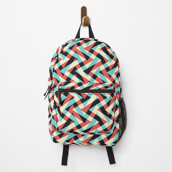 Crazy Retro ZigZag Backpack
